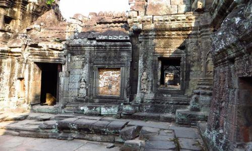 Zdjecie KAMBODżA / Angkor / okolice Siem Reap / Świątynia Banteai Kdei