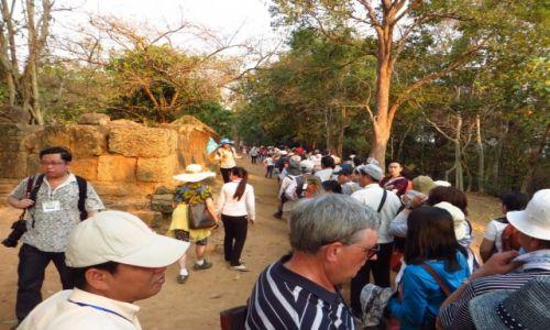 Zdjęcie KAMBODżA / Angkor / okolice Siem Reap / miłośnicy zachodów słońca