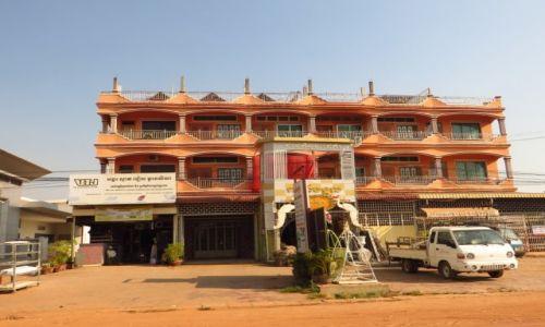 Zdjęcie KAMBODżA / Angkor / Siem Reap / kambodżańska architektura