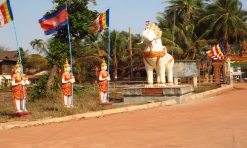 Zdjęcie KAMBODżA / Angkor / Siem Reap / wejście do świątyni