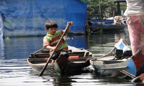 Zdjecie KAMBODżA / jezioro Tonle Sap / Tonle Sap / Balia