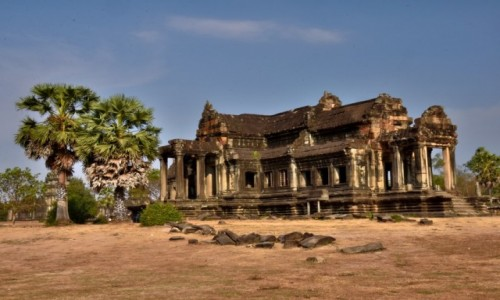 Zdjęcie KAMBODżA / Siem Reap / Angkor / Biblioteka w Angkor Wat