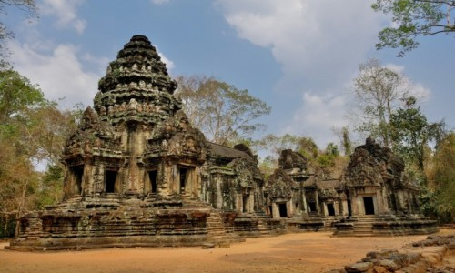 Zdjecie KAMBOD�A / Siem Reap / Angkor / Thommanon Templ