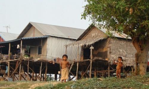 Zdjęcie KAMBODżA / Nizina Kambodżańska / - / Znad jeziora Tonle Sap