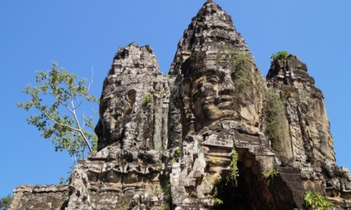 Zdjecie KAMBOD�A / Angkor Wat / Angkor Wat / Cztery strony �