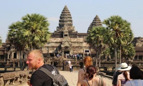 Zdjecie KAMBOD�A / -Siem Reap / Angkor Wat  / Swi�tynia