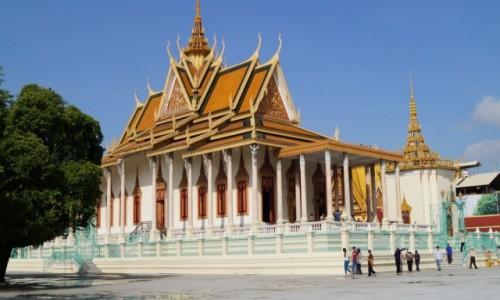 Zdjecie KAMBODżA / Phnom Penh / Phnom Penh / Pałac królewski