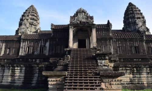 Zdjęcie KAMBODżA / Siem Reap / Angkor / Angkor Wat