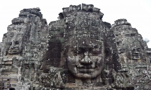 Zdjęcie KAMBODżA / Siem Reap / Angkor / Bayon