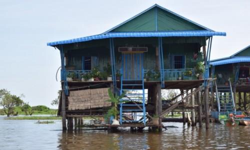 Zdjecie KAMBODżA / Siem Reap / Kompong Phluk / Kompong Phluk