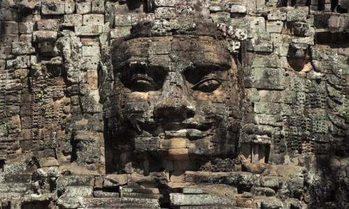 Zdjęcie KAMBODżA / - / Siem Reap / Twarz w Angkor