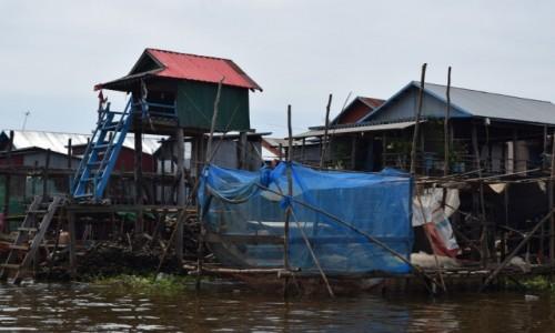Zdjecie KAMBODżA / Siem Reap / Kompong Phluk / Pływające Wiosk