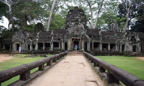 Zdjęcie KAMBODżA / Siem Reap / Angkor / Ta Prohm