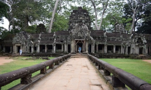 Zdjecie KAMBODżA / Siem Reap / Angkor / Ta Prohm