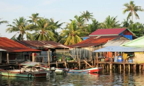 Zdjecie KAMBODżA / Koh Rong / Osada rybacka / Osada rybacka