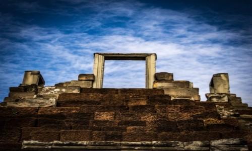 Zdjecie KAMBODżA / Siem Reap / Angkor Wat / Drzwi do nieba