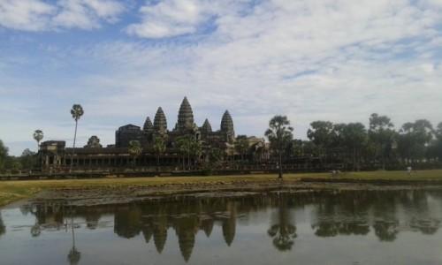 Zdjecie KAMBODżA / - / Angkor Wat / Świątynia w kompleksie Angkor