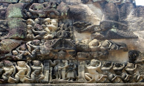 Zdjęcie KAMBODżA / .. / Angkor / Relief