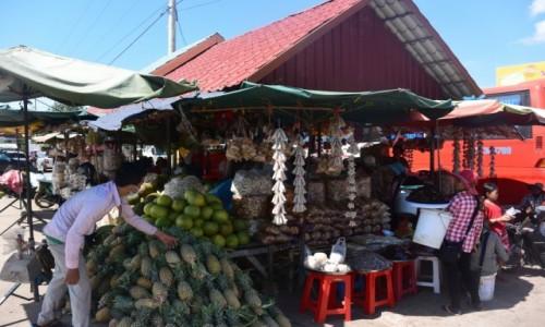 Zdjecie KAMBODżA / - / Kambodża / Bazar w Kmbodży