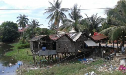 Zdjecie KAMBODżA / - / Kambodża / Wioska w Kambodży