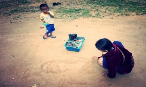 Zdjecie KAMBODżA / Siem Reap / Ankor Wat / Kids