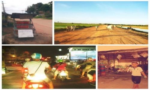 Zdjecie KAMBODżA / Kampong Phluk & Chiang Mai / Kampong Phluk & Chiang Mai / Skuterem
