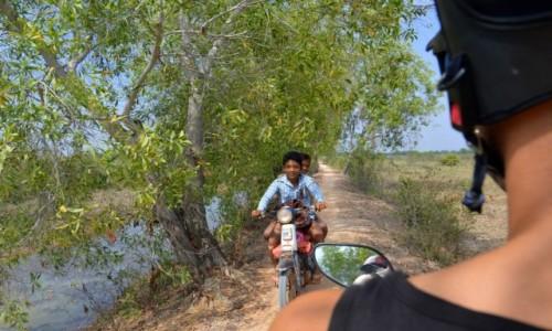 Zdjecie KAMBODżA / okolice Siem Reap / okolice Siem Reap / dzieci w Kambodży