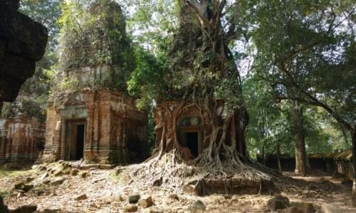 Zdjecie KAMBODżA / Koh Ker / świątynia w Koh Ker / Prasat Pram
