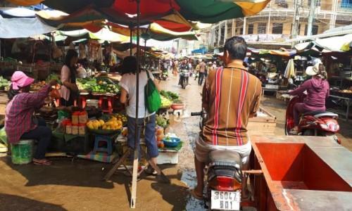 KAMBODżA / Kambodża / Kambodża / Targ w Pursat