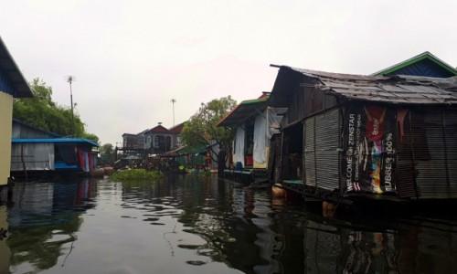 Zdjęcie KAMBODżA / jezioro Tonle Sap / jezioro Tonle Sap / Pływające wioski