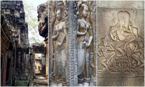 Zdjęcie KAMBODżA / okolice Siem Reap / Angkor / Urzekające piękno Angkor