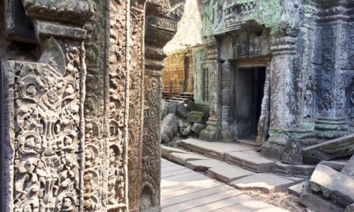 Zdjecie KAMBODżA / okolice Siem Reap / Angkor / Tajemnicze Angkor