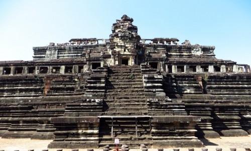 Zdjecie KAMBODżA / Angkor / Angkor Thom / świątynia Baphuon