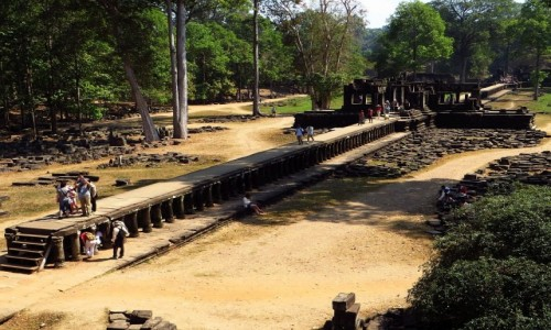 Zdjecie KAMBODżA / Angkor / Angkor Thom / świątynia Baphuon - wejście