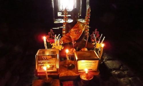 Zdjecie KAMBODżA / Angkor / okolice Siem Reap / świątynia Bajon - sanktuarium