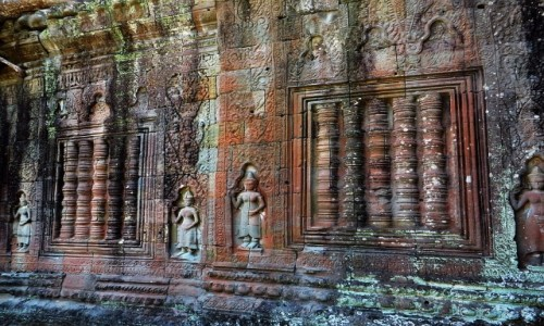 Zdjecie KAMBODżA / Angkor / okolice Siem Reap / Świątynia Prah Khan