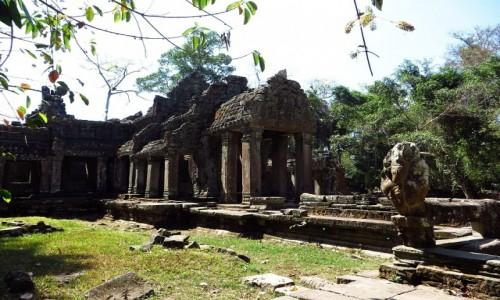 KAMBODżA / Angkor / okolice Siem Reap / Świątynia Prah Khan