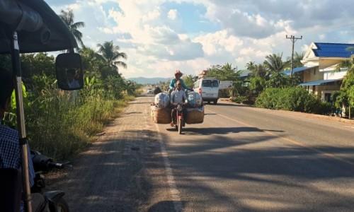 Zdjecie KAMBODżA / okolice Kampotu / okolice Kampotu / Transport w Kambodży