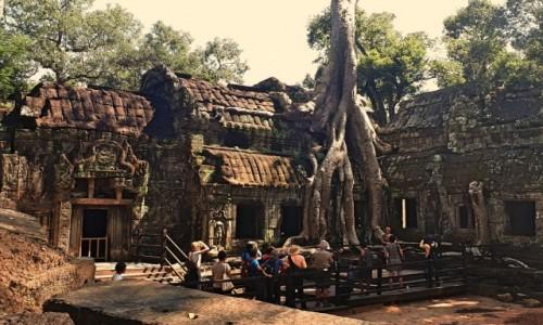 Zdjecie KAMBODżA / okolice Siem Reap / Angkor / Świątynia Ta phrom