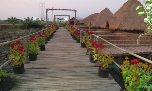 Zdjęcie KAMBODżA / Azja / Kambodża / Kambo restauracja na palach