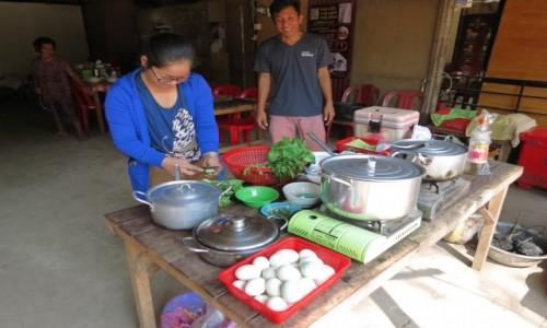 Zdjęcie KAMBODżA / Azja / Kambodża / Kambo rodzinna garkuchnia