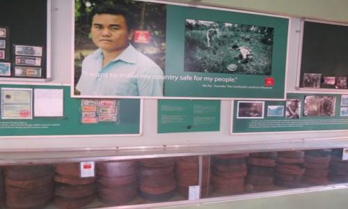Zdjęcie KAMBODżA /  Azja  / Siem Rep / Kambo miny muzeum