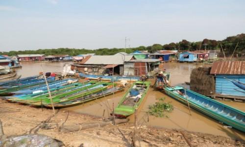 Zdjecie KAMBODżA / Azja / Siem Rep / Kambo życie na wodzie