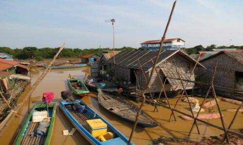 Zdjecie KAMBODżA / Azja / Siem Rep / Kambo życie na wodzie 1