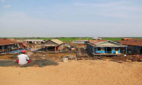 KAMBODżA / Azja / Siem Rep / Kambo życie na wodzie 2