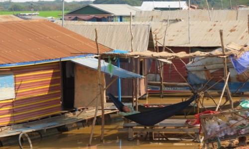 Zdjecie KAMBODżA / Azja / Siem Rep / Kambo życie na wodzie 3