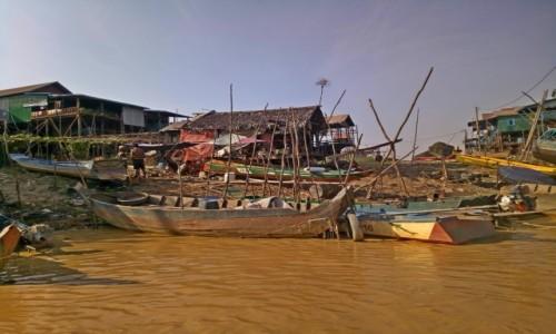 Zdjecie KAMBODżA / Siem Reap / Siem Reap / Wioska na wodzie