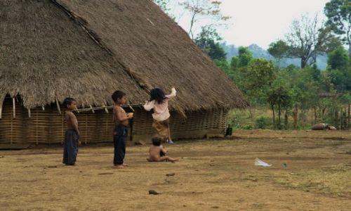 Zdjęcie KAMBODżA / brak / Mondulkiri / Dzieci z wioski