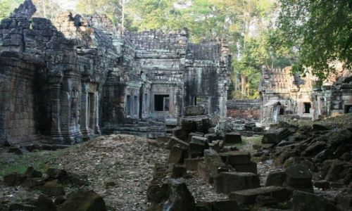 Zdjęcie KAMBODżA / brak / Angkor / Ta prohm