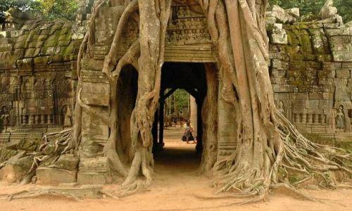 Zdjecie KAMBODżA / brak / Angkor k/Siem Reap / Świątynie Angko